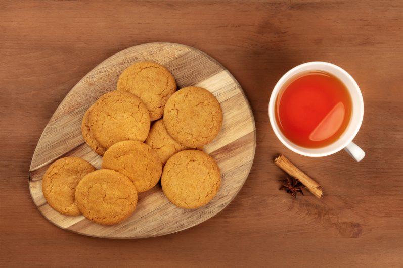 Receitas de biscoito com chá