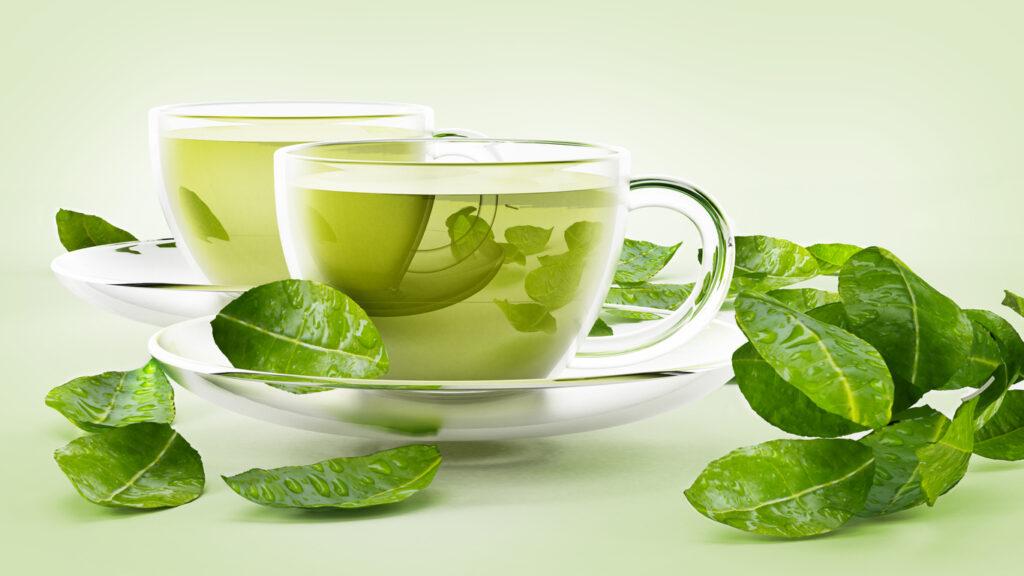 Propriedades benéficas do chá verde