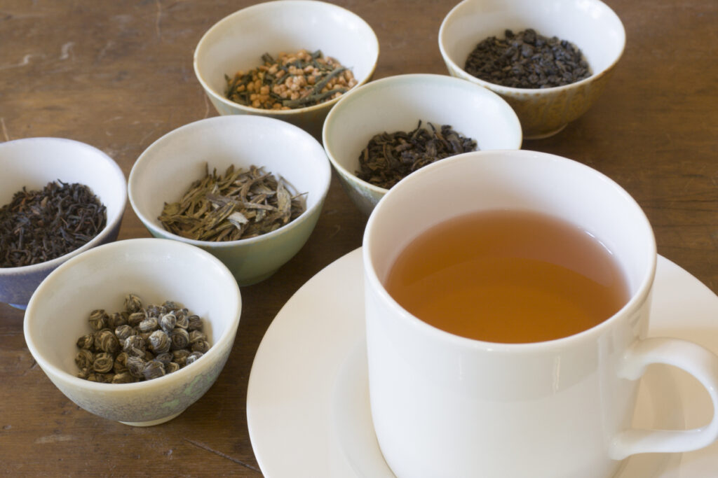 Diferenças entre chá verde, branco, preto e oolong